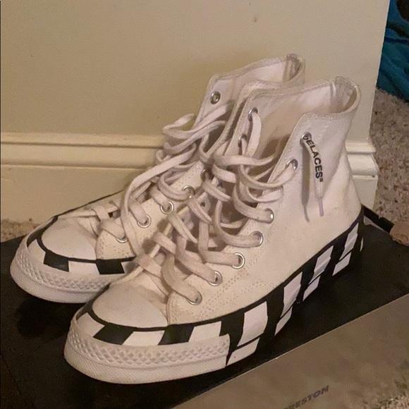 Shoes   Off White Converse   Poshmark